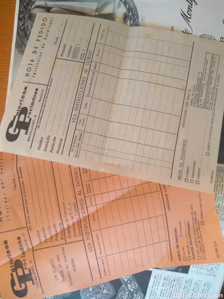 Catálogos publicitarios: PUBLICIDAD OTOÑO INVIERNO 1965-66 GALERÍAS PRECIADOS VENTA POR CORRESPONDENCIA - Foto 6 - 179250115