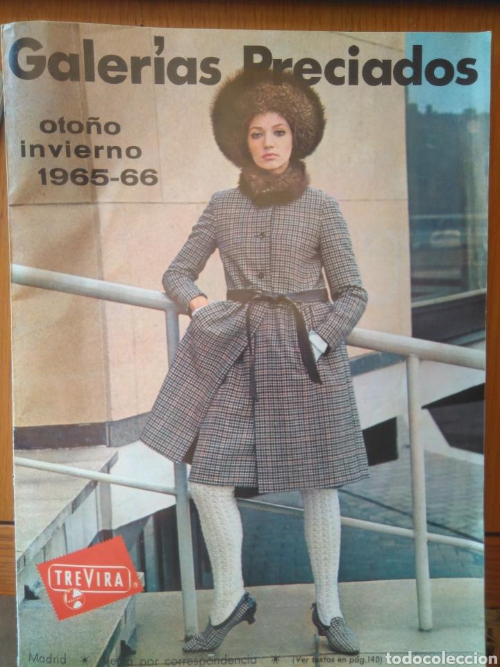 PUBLICIDAD OTOÑO INVIERNO 1965-66 GALERÍAS PRECIADOS VENTA POR CORRESPONDENCIA (Coleccionismo - Catálogos Publicitarios)