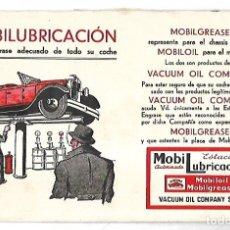 Catálogos publicitarios: PUBLICIDAD. ESTACION MOBILUBRICACION. MOBILGREASE. MECANISMOS Y DETALLES. VER. Lote 179394236