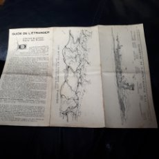 Catálogos publicitarios: FOLLETO HOTEL VICTORIA EN BIARRITZ. Lote 179961256