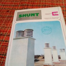 Catálogos publicitarios: CATALOGO CONSTRUCCIÓN SHUNT. Lote 180139606
