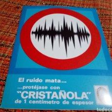 Catálogos publicitarios: CATÁLOGO CONSTRUCCIÓN CRISTAÑOLA. Lote 180148545