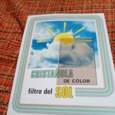 Catálogos publicitarios: CATALOGO CONSTRUCCIÓN CRISTAÑOLA. Lote 180152975