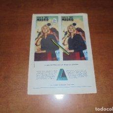 Catálogos publicitarios: PUBLICIDAD 1963: LEACRIL - MANTA COURTELLE. Lote 180211875