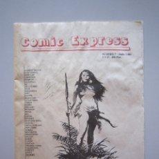 Catálogos publicitarios: CATÁLOGO - COMIC EXPRESS Nº 7 (CATÁLOGO GENERAL DE COMICS) - 2001. Lote 181354816