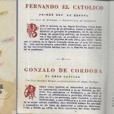 Cataloghi pubblicitari: FOLLETO CATÁLOGO *BIOGRAFÍAS AMENAS DE GRANDES FIGURAS * ED. BORIS BUREBA. Lote 181415206