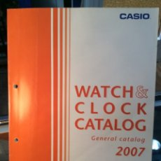Catálogos publicitarios: CATALOGO RELOJ CASIO - COLECCION - ¡¡ AÑO 2007 !! (VER FOTOS). Lote 182421655