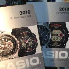 Catálogos publicitarios: 2 !!!! CATALOGO RELOJ CASIO - COLECCION + SUPLEMENTO - ¡¡ AÑO 2010 !! (VER FOTOS). Lote 182643113