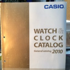 Catálogos publicitarios: CATALOGO RELOJ CASIO - COLECCION - ¡¡ AÑO 2010 !! (VER FOTOS). Lote 182643483