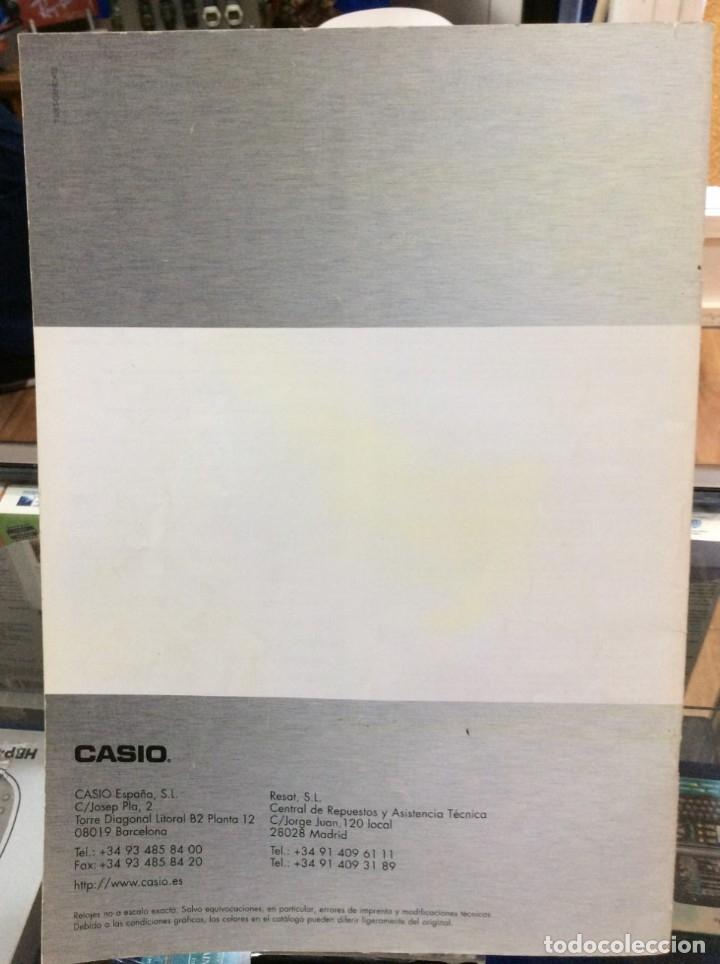 Catálogos publicitarios: CATALOGO RELOJ CASIO - COLECCION - ¡¡ AÑO 2010 / 11 !! (VER FOTOS) - Foto 2 - 182643682