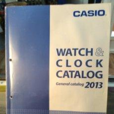 Catálogos publicitarios: CATALOGO RELOJ CASIO - COLECCION - ¡¡ AÑO 2013 !! (VER FOTOS). Lote 182735910
