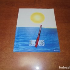 Catálogos publicitarios: PUBLICIDAD 1987: DUCADOS. Lote 182737710