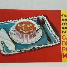 Catálogos publicitarios: CALDO DE POLLO MAGGI - DIPTICO RECETAS AÑOS 60´. Lote 182866591