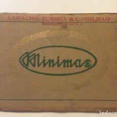 Catálogos publicitarios: CATÁLOGO DE MINIMAX ,SARACHO ZUBIRIA ¬Cª BILBAO. Lote 182907665