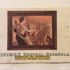 Catálogos publicitarios: CATÁLOGO DE MINIMAX CENTRAL ESPAÑOLA. Lote 182909191