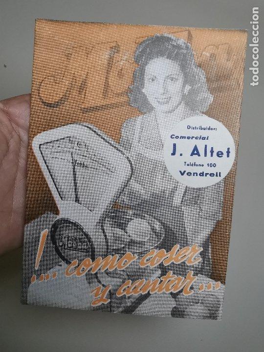 Catálogos publicitarios: DESPLEGABLE PUBLICIDAD BASCULAS BALANZAS MOBBA--MODELOS-J.ALTET EL VENDRELL--AÑOS 50------ REF-ZZ - Foto 3 - 183088660
