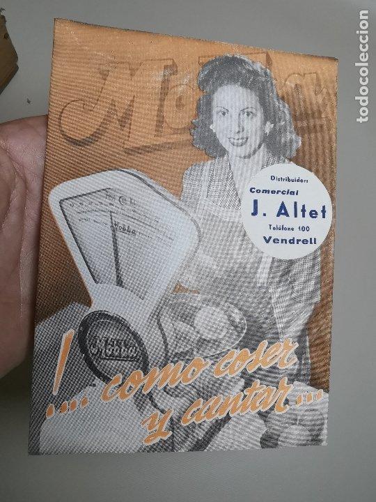 DESPLEGABLE PUBLICIDAD BASCULAS BALANZAS MOBBA--MODELOS-J.ALTET EL VENDRELL--AÑOS 50------ REF-ZZ (Coleccionismo - Catálogos Publicitarios)