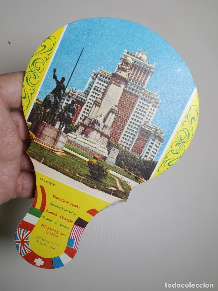 Catálogos publicitarios: ABANICO PAYPAY PUBLICIDAD MUEBLES QUER VILAFRANCA PANADES AÑOS 40-50-PAY PAY--- REF-ZZ - Foto 2 - 183201622