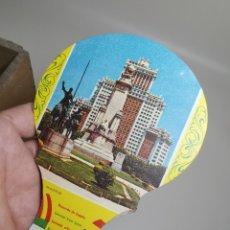 Catálogos publicitarios: ABANICO PAYPAY PUBLICIDAD MUEBLES QUER VILAFRANCA PANADES AÑOS 40-50-PAY PAY--- REF-ZZ. Lote 183201622