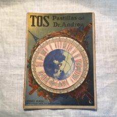 Catálogos publicitarios: TOS DR. ANDREU, HORARIO MUNDIAL. Lote 183784892
