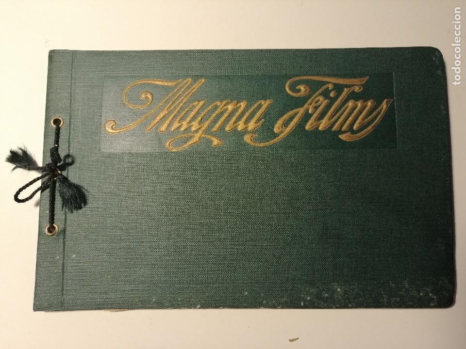 CATÁLOGO DE MAGNA FILMS 1916. CINE MUDO, PROYECTO DE OFICINAS Y ESTUDIO DE FILMACIÓN. BARCELONA (Coleccionismo - Catálogos Publicitarios)