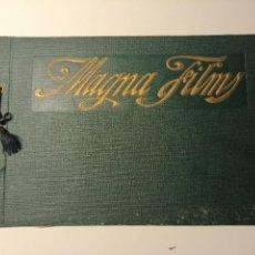 Catálogos publicitarios: CATÁLOGO DE MAGNA FILMS 1916. CINE MUDO, PROYECTO DE OFICINAS Y ESTUDIO DE FILMACIÓN. BARCELONA. Lote 183981171