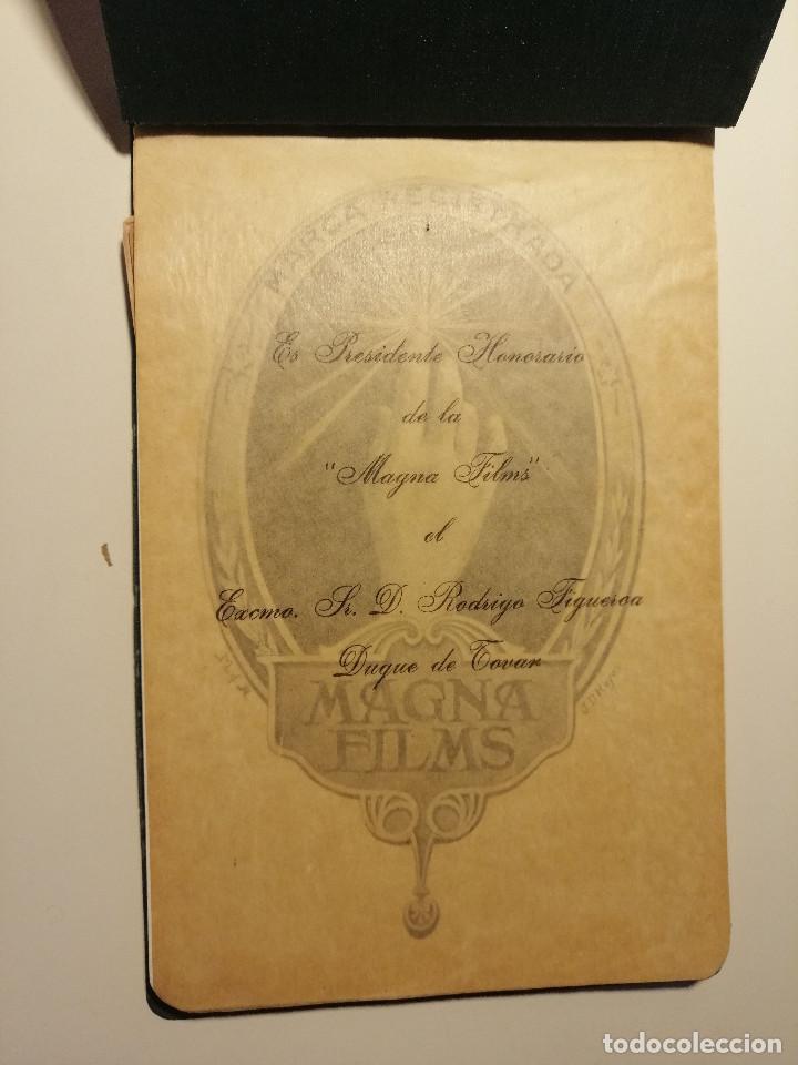 Catálogos publicitarios: Catálogo de Magna Films 1916. Cine mudo, proyecto de oficinas y estudio de filmación. Barcelona - Foto 2 - 183981171
