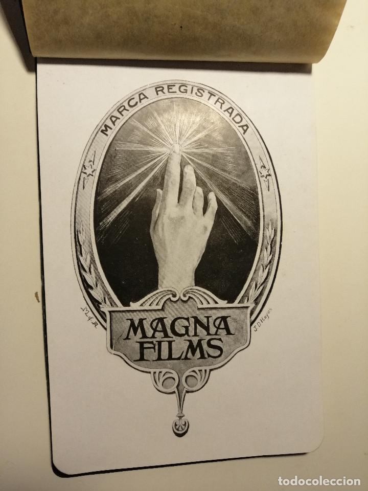 Catálogos publicitarios: Catálogo de Magna Films 1916. Cine mudo, proyecto de oficinas y estudio de filmación. Barcelona - Foto 3 - 183981171