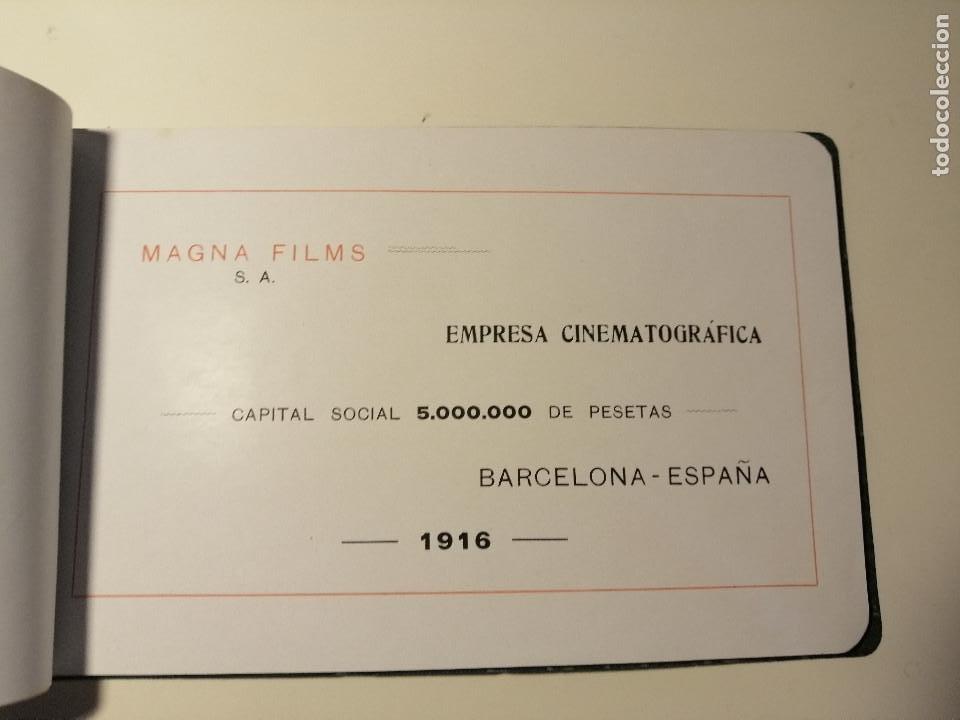 Catálogos publicitarios: Catálogo de Magna Films 1916. Cine mudo, proyecto de oficinas y estudio de filmación. Barcelona - Foto 4 - 183981171
