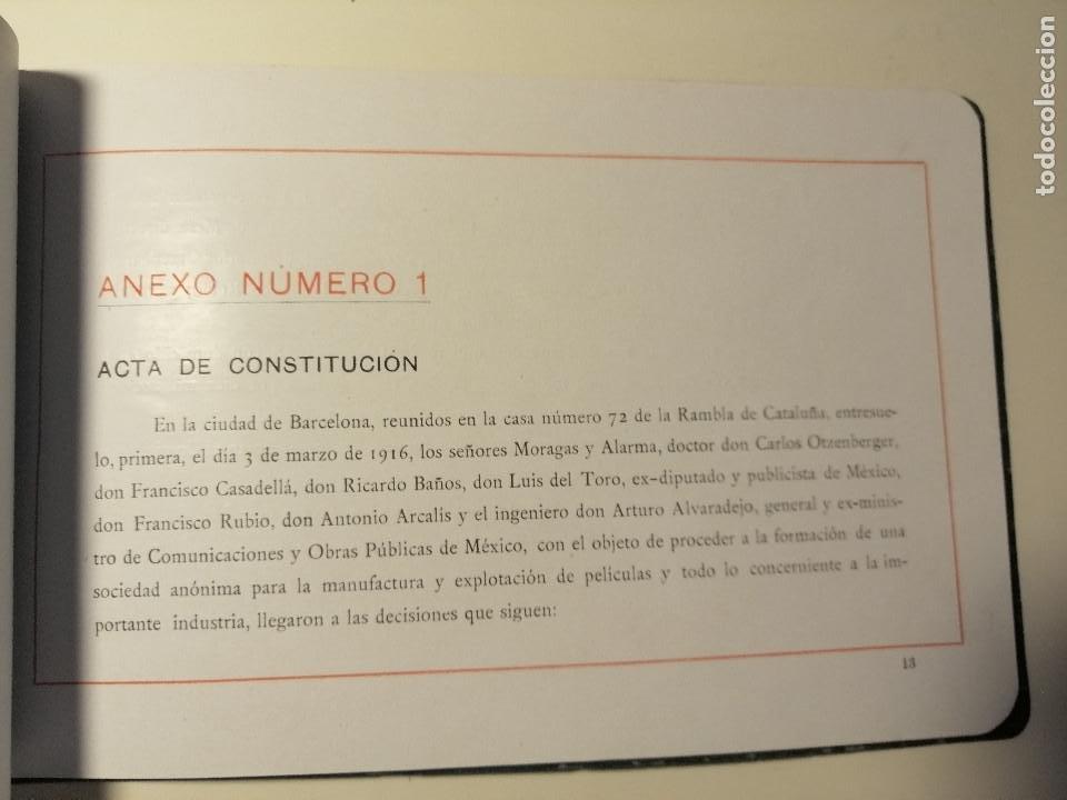Catálogos publicitarios: Catálogo de Magna Films 1916. Cine mudo, proyecto de oficinas y estudio de filmación. Barcelona - Foto 5 - 183981171
