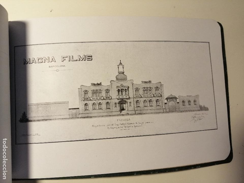 Catálogos publicitarios: Catálogo de Magna Films 1916. Cine mudo, proyecto de oficinas y estudio de filmación. Barcelona - Foto 6 - 183981171