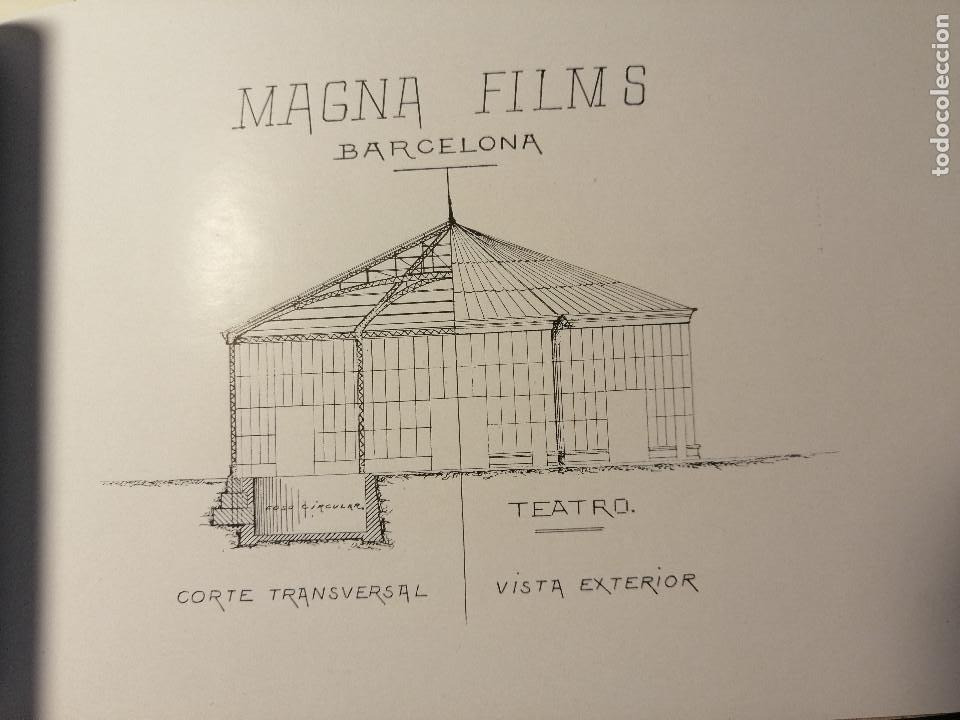 Catálogos publicitarios: Catálogo de Magna Films 1916. Cine mudo, proyecto de oficinas y estudio de filmación. Barcelona - Foto 8 - 183981171