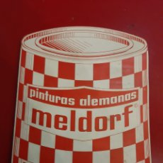 Catálogos publicitarios: LA CORUNA MELDORF PINTURAS ALEMANAS CARTA COLORES N 4. Lote 183988176