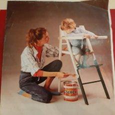Catálogos publicitarios: 1984 VALENTINE PINTURAS LISTA PRECIOS MONTCADA I REIXAC BARCELONA. Lote 184006275