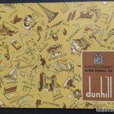 Catálogos publicitarios: CATALOGO DUNHILL-PIPAS-TABACO-FUMADOR-BOLSOS-PLUMAS-AÑO 1960·61-VER FOTOS-(V-18.205). Lote 184024868
