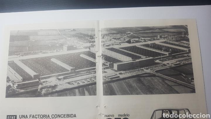 Catálogos publicitarios: AÑOS 60. DOBLE HOJA. NUEVO MODELO SEAT 850. LICENCIA FIAT - Foto 2 - 184183300