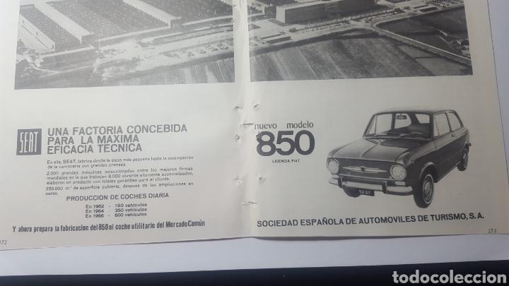 Catálogos publicitarios: AÑOS 60. DOBLE HOJA. NUEVO MODELO SEAT 850. LICENCIA FIAT - Foto 3 - 184183300