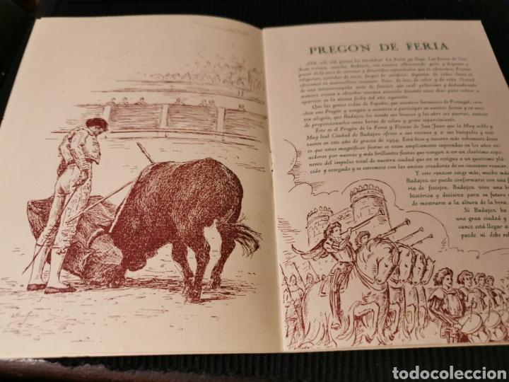 Catálogos publicitarios: Fiestas de San Juan 1954 Badajoz. Programa de fiestas. - Foto 3 - 184803935