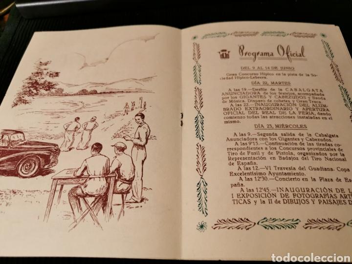 Catálogos publicitarios: Fiestas de San Juan 1954 Badajoz. Programa de fiestas. - Foto 5 - 184803935