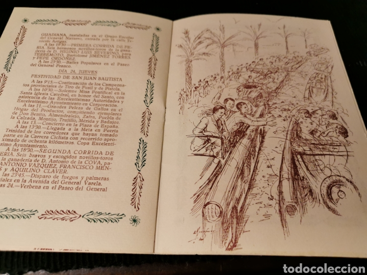 Catálogos publicitarios: Fiestas de San Juan 1954 Badajoz. Programa de fiestas. - Foto 6 - 184803935