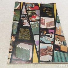 Catálogos publicitarios: REVISTA CATALOGO CIRCULO DE LECTORES ABRIL MAYO JUNIO 1971 LOS MISMOS LUIS AGUILE NINO BRAVO LA PAND. Lote 184904418