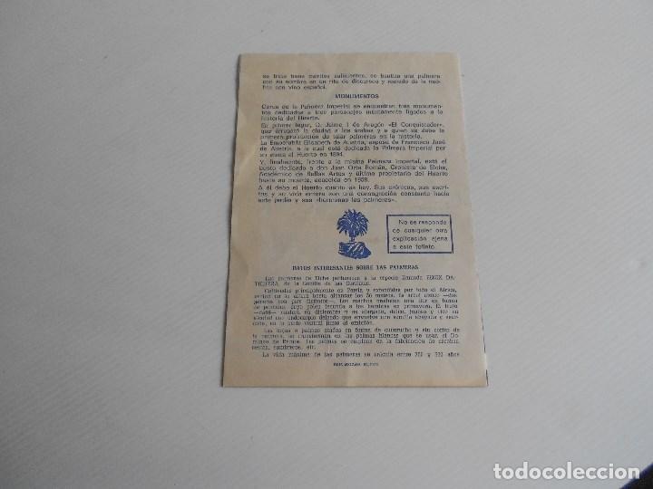 Catálogos publicitarios: el huerto del cura ,elche, jardin artistico nacional - Foto 3 - 185699301