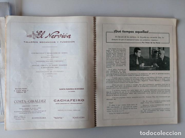 Catálogos publicitarios: RRR 4ª REVISTA FERIA DEL AUTOMOVIL DE OCASION - 1954 - PUENTECESURES - GALICIA - Foto 3 - 185983495