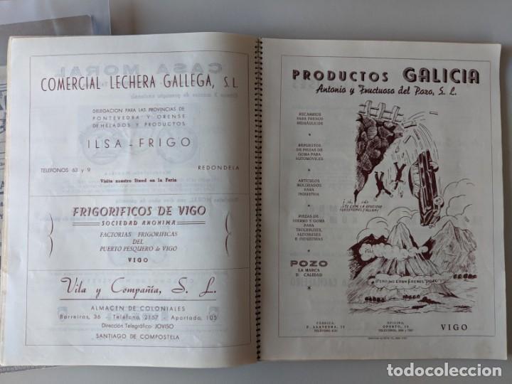 Catálogos publicitarios: RRR 4ª REVISTA FERIA DEL AUTOMOVIL DE OCASION - 1954 - PUENTECESURES - GALICIA - Foto 6 - 185983495