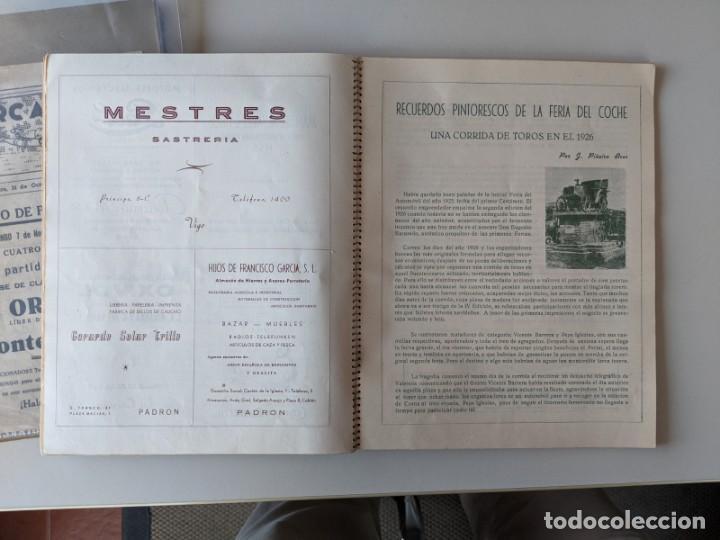 Catálogos publicitarios: RRR 4ª REVISTA FERIA DEL AUTOMOVIL DE OCASION - 1954 - PUENTECESURES - GALICIA - Foto 8 - 185983495