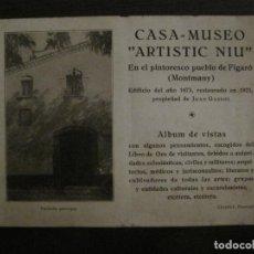 Catálogos publicitarios: FIGARO (MONTMANY)-CATALOGO PUBLICIDAD CASA MUSEO ARTISTIC NIU-AÑO 1929-VER FOTOS-(V-18.542). Lote 186441957