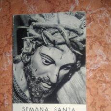 Catalogues publicitaires: ANTIGUO FOLLETO SEMANA SANTA EN ZAMORA, AÑO 1962. Lote 188511026