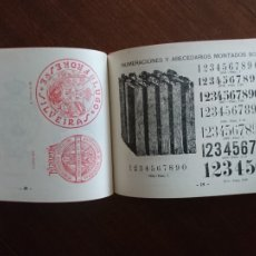 Catálogos publicitarios: SELLOS GRABADOS MARCAS 1930 AMBROSIO ALLADO. Lote 188795652