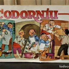 Catálogos publicitarios: CODORNIU FOLLETO PUBLICITARIO TIPO COMIC . Lote 189219191