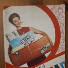 Catálogos publicitarios: CATÁLOGO VALISPAR 1969.. Lote 189486431